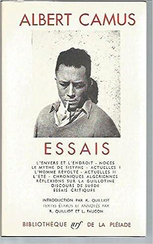 Essais By Albert Camus