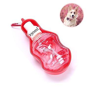 Botellas de Agua portátil para Perros, AIDUE Dispensador de Agua para Mascotas Viaje Botella para Beber Agua, Adecuado para al Aire Libre, ...
