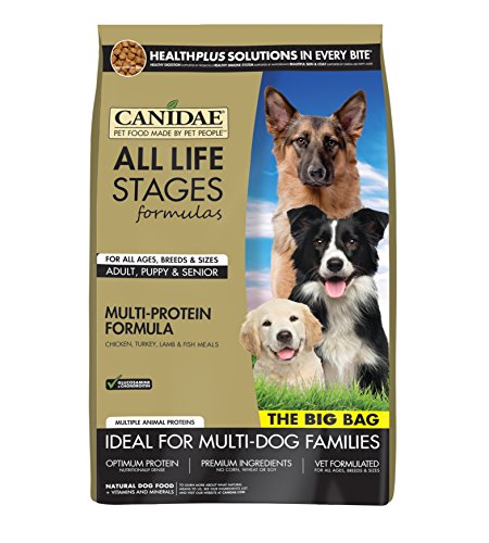 Formula Turkey (CANIDAE All Life Stages Dog Dry Food Chicken, Turkey, Lamb & Fish Meals Formula, 44 lbs)