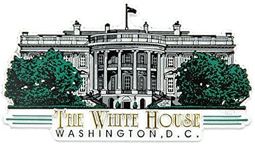 The White House Washington D.C. Fridge Magnet