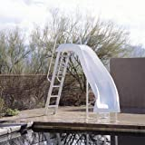 Inter-Fab CITY2-CLW City Slide Water Pool Slide, White