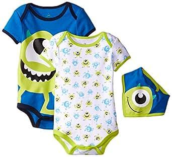 Amazon.com: Disney Baby-Boys Monster Inc Mike Bodysuit and