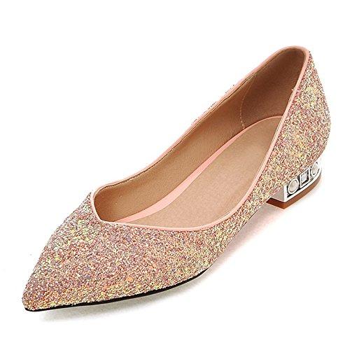Fashion HeelBallet Flats - Ballet mujer Rosa