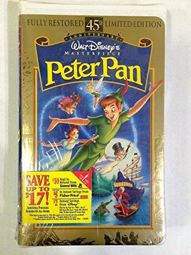 peter pan disney vhs - 9