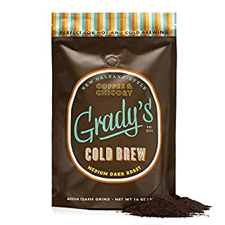Grady's New Orleans Style Regular Coarse Ground Cold Brew Coffee (16 oz)