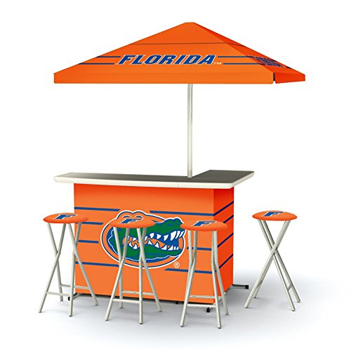 Best of Times Collegiate Patio Bar and Tailgating Center Deluxe (Florida Gators Tailgate Cooler)