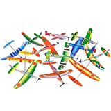 Big Mo's Toys 24 Pack 8 Inch Glider Planes