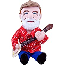 "The Unemployed Philosophers Guild Pete Seeger Little Thinker - 11"" Plush Doll for Kids and Adults"