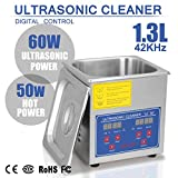 HappyBuy Ultrasonic Cleaner 1.3L Large Commercial