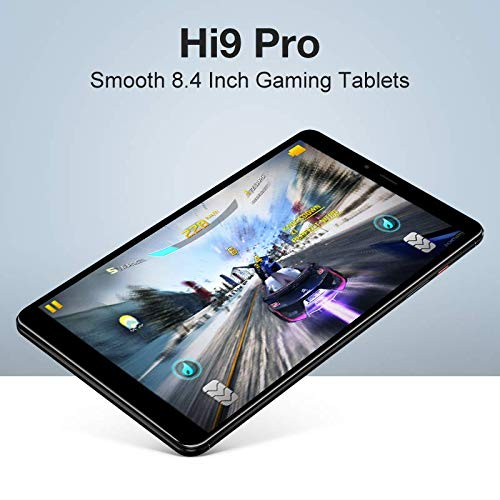 Chuwi Hi9 Pro Tablet,4G LTE Unlocked Phablet,Dual SIM Card Phablet,8.4 inch Android 8.0 MTK Helio X20 Tablet,3G+32G,Expansion 128G,Dual Band 2.4GHz / 5.0GHz WiFi,2560x1600 Resolution Screen