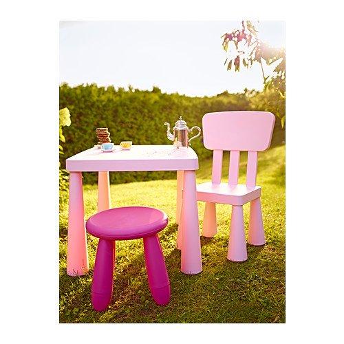 Tavolino Mammut Ikea.Mammut Ikea Tavolino Per Bambini Colore Rosa Chiaro