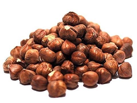 Gourmet Hazelnuts by Its Delish (Roasted Salted, one pound) (Hazelnut Roasted)
