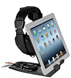 Allsop Headset Hangout, Universal Headphone Stand & Tablet Holder, Adjustable with 4 Viewing Angles and Cord Management System (31661) Review
