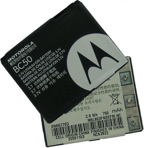 - Standard GENERIC Li-Ion Battery For Motorola SLVR L6 L2 V8 V3x C257 C261 SNN5779 BC50