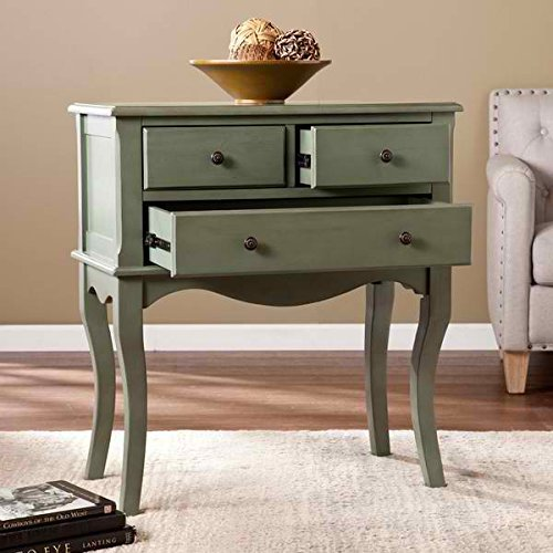 Console Tables / Cabinets, Mid-Century Celine 3-Drawer Sideboard OS5105MC in Distressed Finish, Assembly - Console Farmhouse Drawer