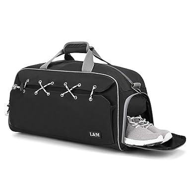 Ruda - Bolsa de deporte para hombre con compartimento para ...