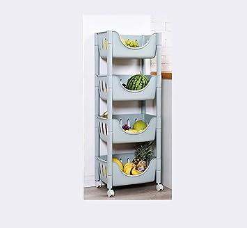 Yanw Shelf Moderne Mode Kunststoff Kuchenregal Soja Essig Gemuse Und
