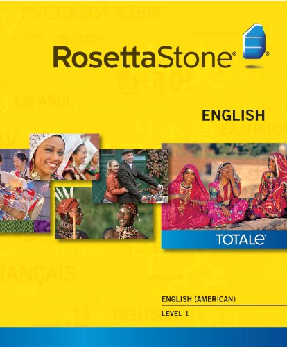 Rosetta Stone English (American) Level 1 for Mac [Download]