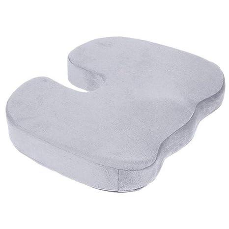 Amazon.com: Cojín de asiento de viaje con espuma ...
