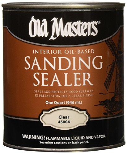 Old Masters 3679 Interior Oil Based Sanding Sealer, 1 (Oil Based Wood)