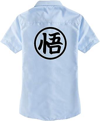 WANHONGYUE Dragon Ball Son Goku Anime T-Shirt Adulto Cosplay ...