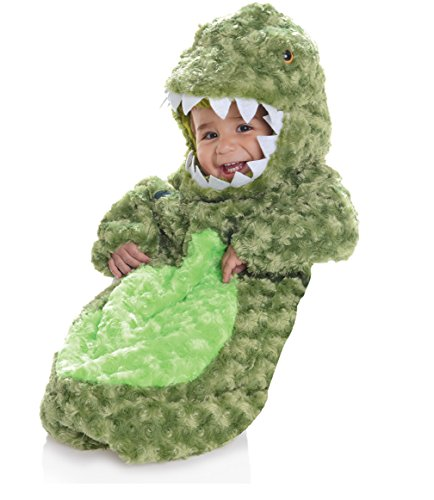 Puppy Belly Baby Costume (Underwraps Baby's T-Rex Belly Babies Bunting)