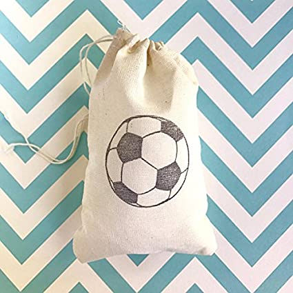 Amazon 10 Soccer Favor Bags Sports Birthday Party Goodie