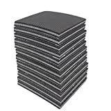 Amariver Non Slip Furniture Pads Grippers, 12 Pcs Self-Adhesive Rubber Feet with Solid Felts Pads for Furniture Legs, Wood Floor Protectors, 4 inches, Anti Slip, No Nails, No Glue, Set of 12
