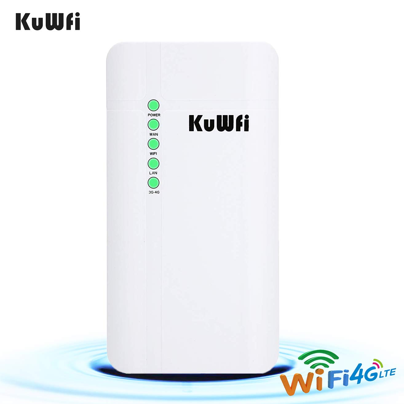 Amazon.com: KuWFi Outdoor 4G LTE CPE WiFi Router with Sim ...
