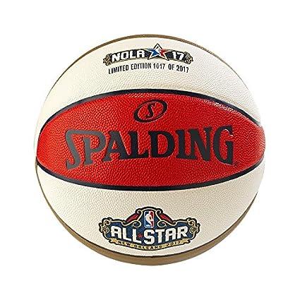 Amazon.com: Spalding 2017 oficial NBA all-star nola17 ...