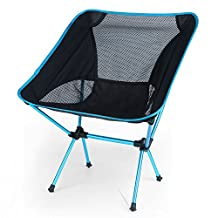 OUTAD Portable Ultralight Heavy Duty Folding Chair for Outdoor Activities/Camping/Hiking, Weight Capacity: 330lb/150kg