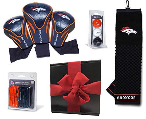 Denver Broncos Ultimate NFL Golf Gift Box