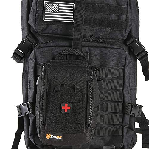 Medical and EDC IFAK Molle Pouch for Blowout Kit, EMT