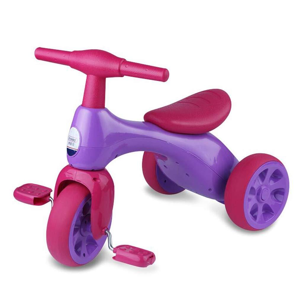 【★超目玉】 18から36か月の年齢のためのフットペダルが付いている幼児の三輪車 B07PPY8YB5 Pink Pink B07PPY8YB5, ディッキーズ公式ストア:11039bc0 --- domaska.lt