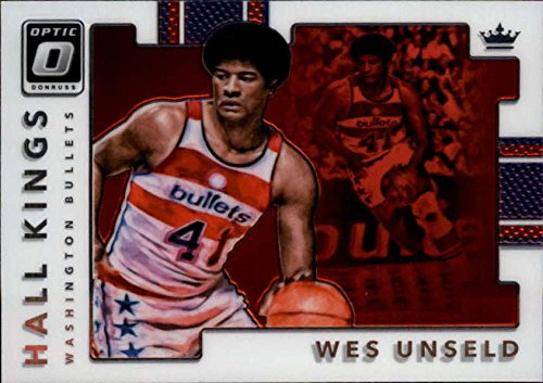 (2017-18 Donruss Optic Hall Kings #13 Wes Unseld Bullets)