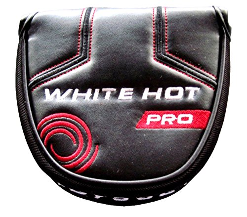Odyssey Putter Ball Headcover 2 (ODYSSEY NEW White Hot Pro Mallet Putter Cover Headcover)