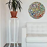"Global Crafts 24"" Recycled Hand-Painted Haitian"