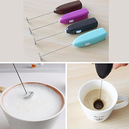 Drinks Milk Frother Foamer Stirrer Kitchen Tools Mini Electric Handle Whisk Mixer Egg Beater EggTool
