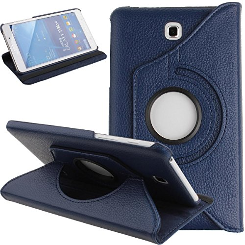 Galaxy Tab 4 7.0 Case,Flip Case for Galaxy Tab 4 7-inch Tablet,Folio Nook PU Leather 360 Degree Swivel Stand Case Cover…