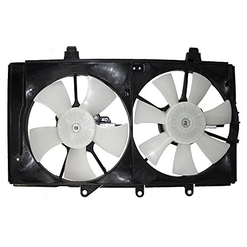 Dual Radiator A/C AC Cooling Fan Assembly Replacement for Dodge Plymouth Neon 5019212AA 5019209AA AutoAndArt ()