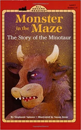 Downloads bøger til iPhone Monster in the Maze: The Story of the Minotaur (All Aboard Reading) iBook 0448421836