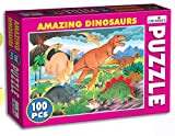 Creative Educational Aids 0724 Amazing Dinosaurs Puzzle (100 Piece)