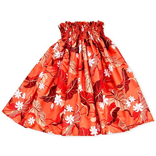 Hula Jam Women's Orange Punch Hawaiian Pa'u Hula Skirt, used for sale  Delivered anywhere in USA