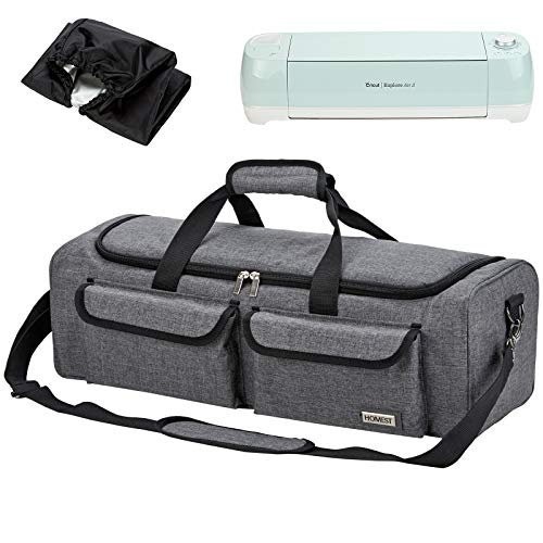 HOMEST Carrying Case Compatible with Cricut Explore Air 2, Cricut Maker, Silhouette CAMEO3, Lavender (Patent Design)