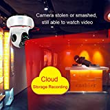 Cloud Storage Wireless WIFI Security Camera,1080P Home Surveillance IP Camera Baby Monitor with Night Vision Pan/Tilt Two way Talk ( Free App supports iOS Android),Support 64G TF Card(not include)