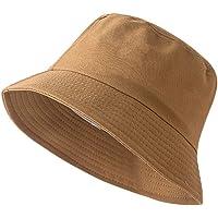 JUHARFA Bucket Hat Summer Travel Bucket Beach Sun Hat Unisex Visor Outdoor Cap