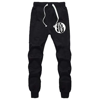 CXJ-Pants Casual Divertido Imprimir Dragon Ball Goku Pantalones ...