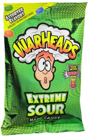 warheads bonbons