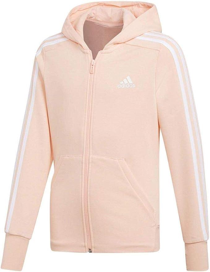 adidas® ESSENTIALS LINEAR Ladies Hooded Jacket climalite