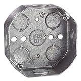 4 in Metal Octagon Box (30 per Case)